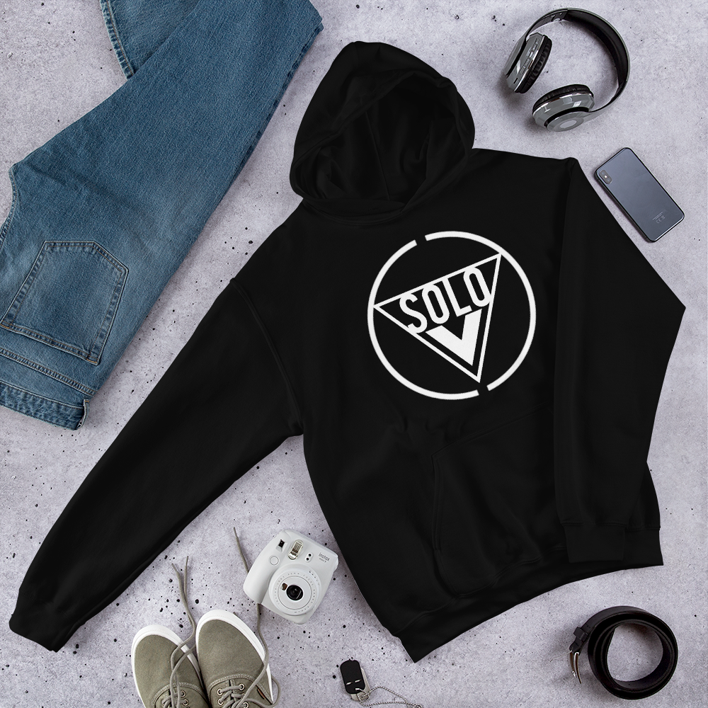 Image of A Solo Vision (Black) Hoodie