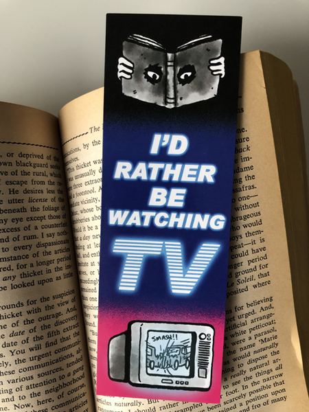 Image of TV Bookmark