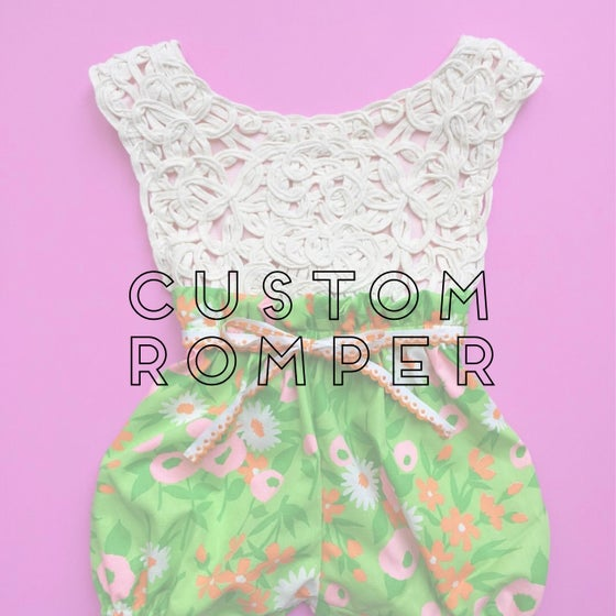 Image of CUSTOM ROMPER