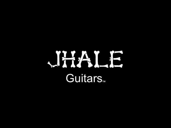Image of JHALE guitars logo T-shirts