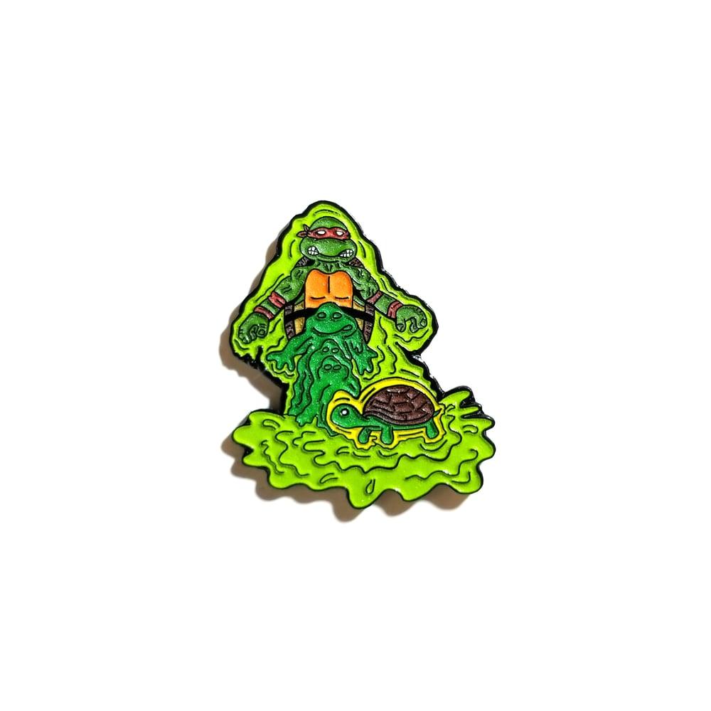 Image of Mutation Raph lapel pin
