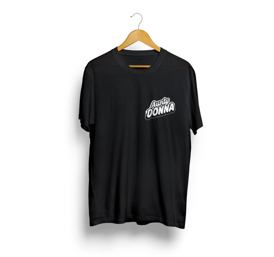 Image of Aunty Donna Black Logo T-Shirt