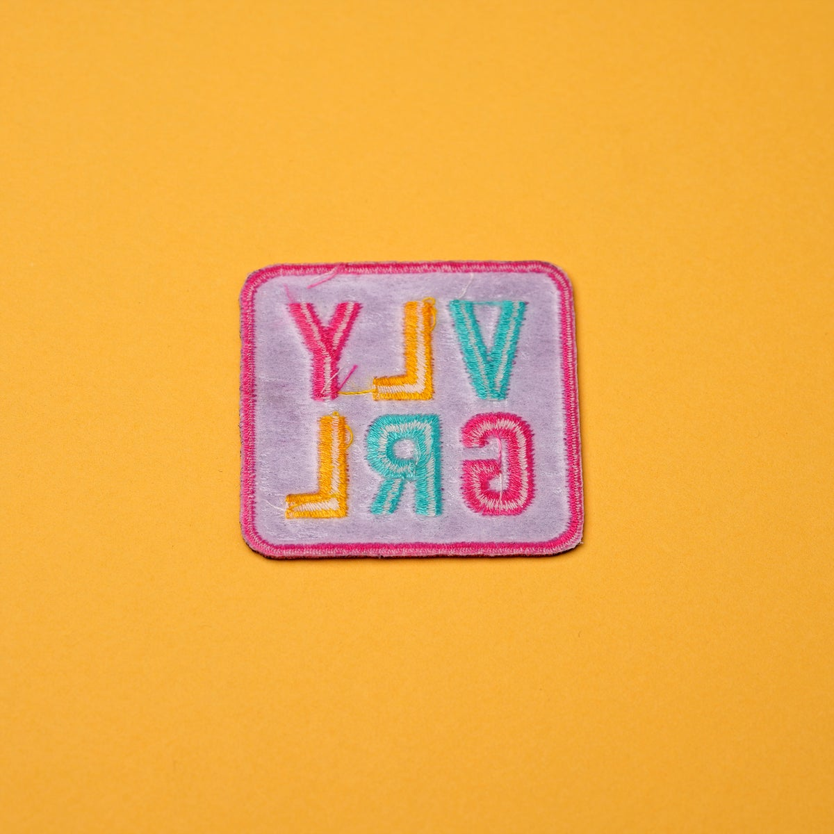 Image of VLY GRL Logo Patch