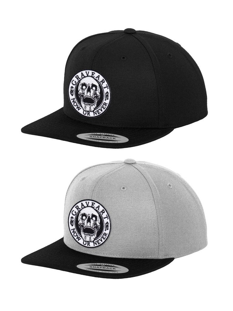 Image of Now Or Never - Snapback Cap black / gray