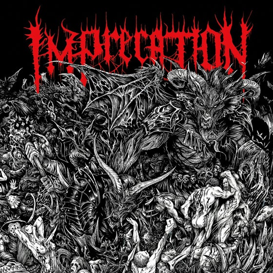 Image of Imprecation • Damnation Ad Bestias (Black Vinyl)