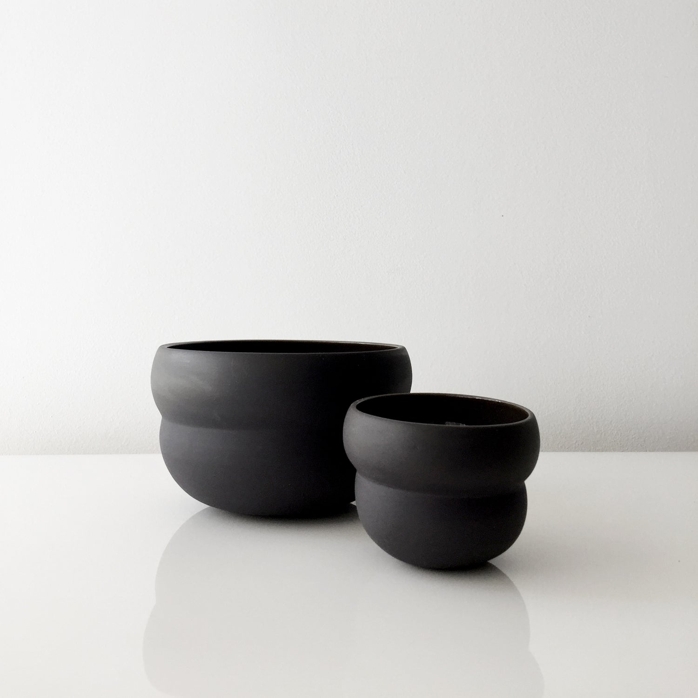 Image of BLACK CLOUD PLANTERS