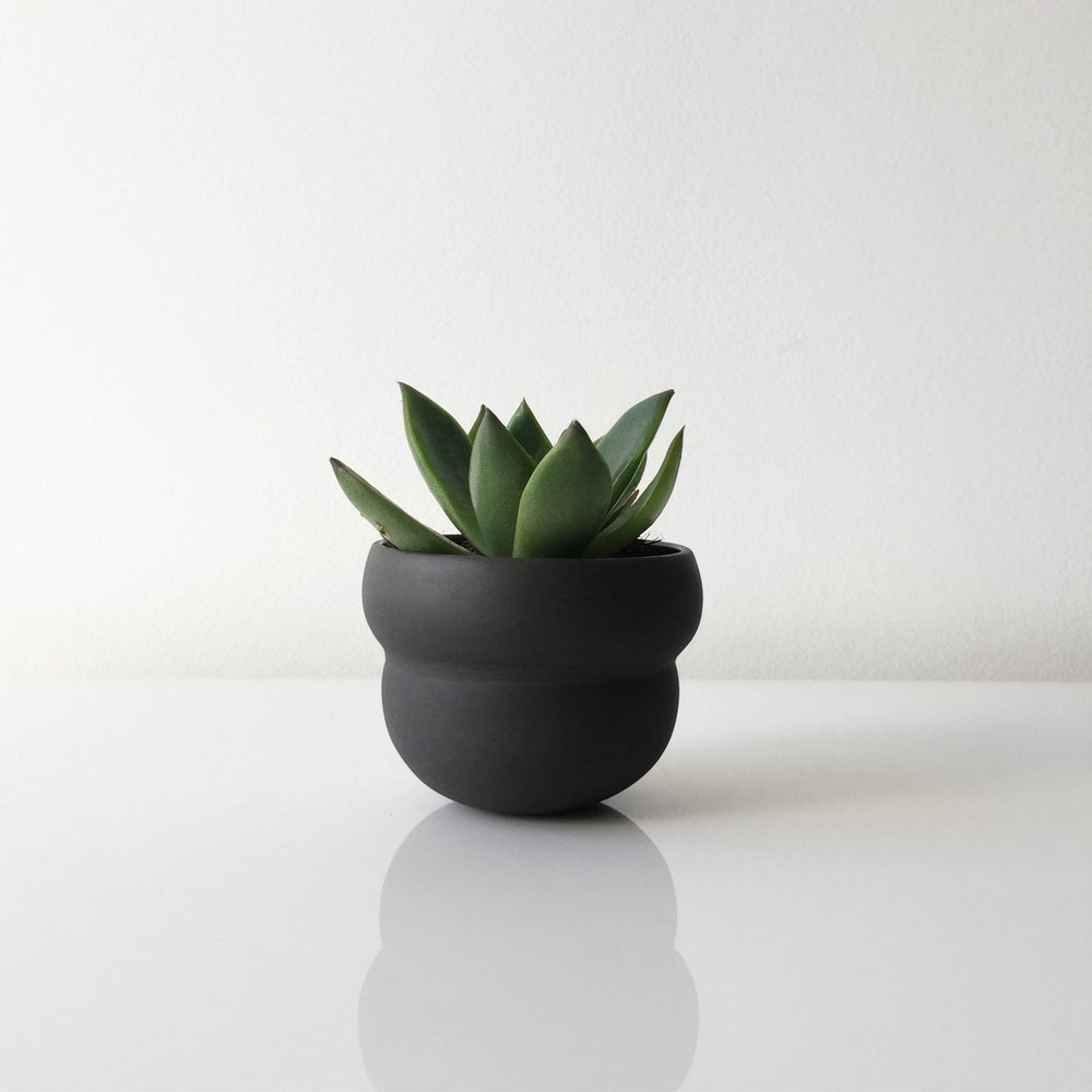 Image of Black cloud planter