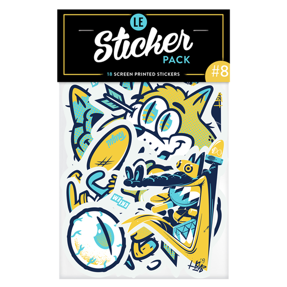 Image of LE STICKER PACK #8