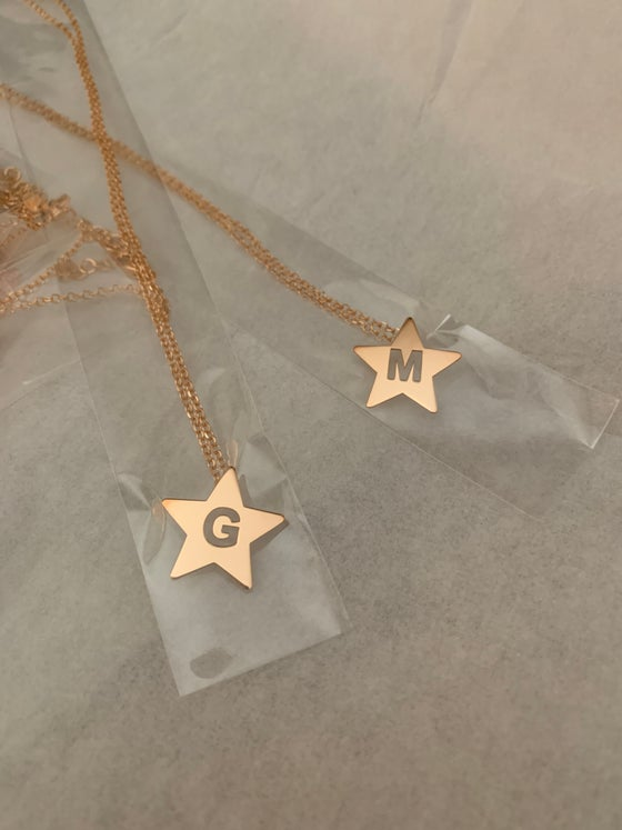 Image of COLLANA STAR MONOGRAM