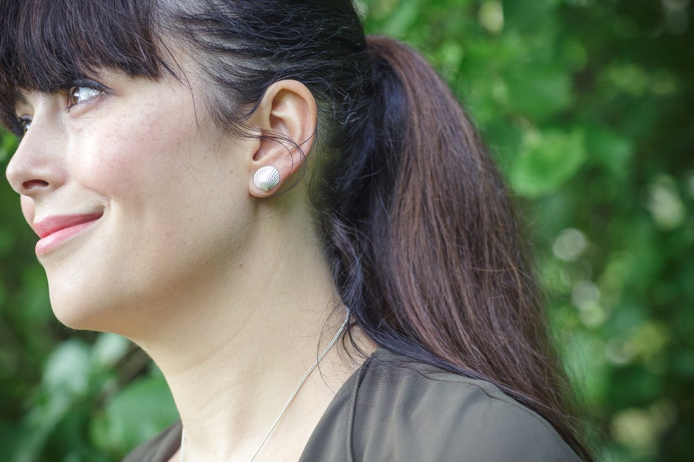Image of Dorset Cockle Earrings