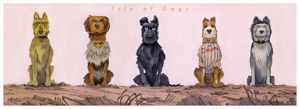 Image of Isle of Dogs Print Regular
