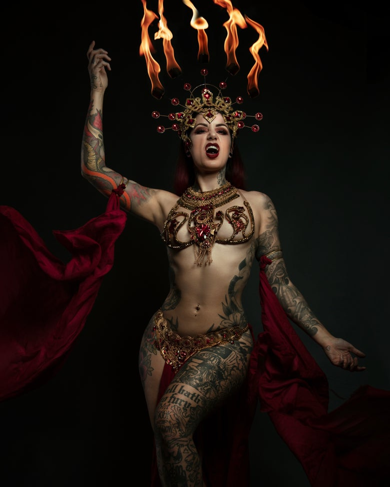 Image of Fire Queen Of The Damned