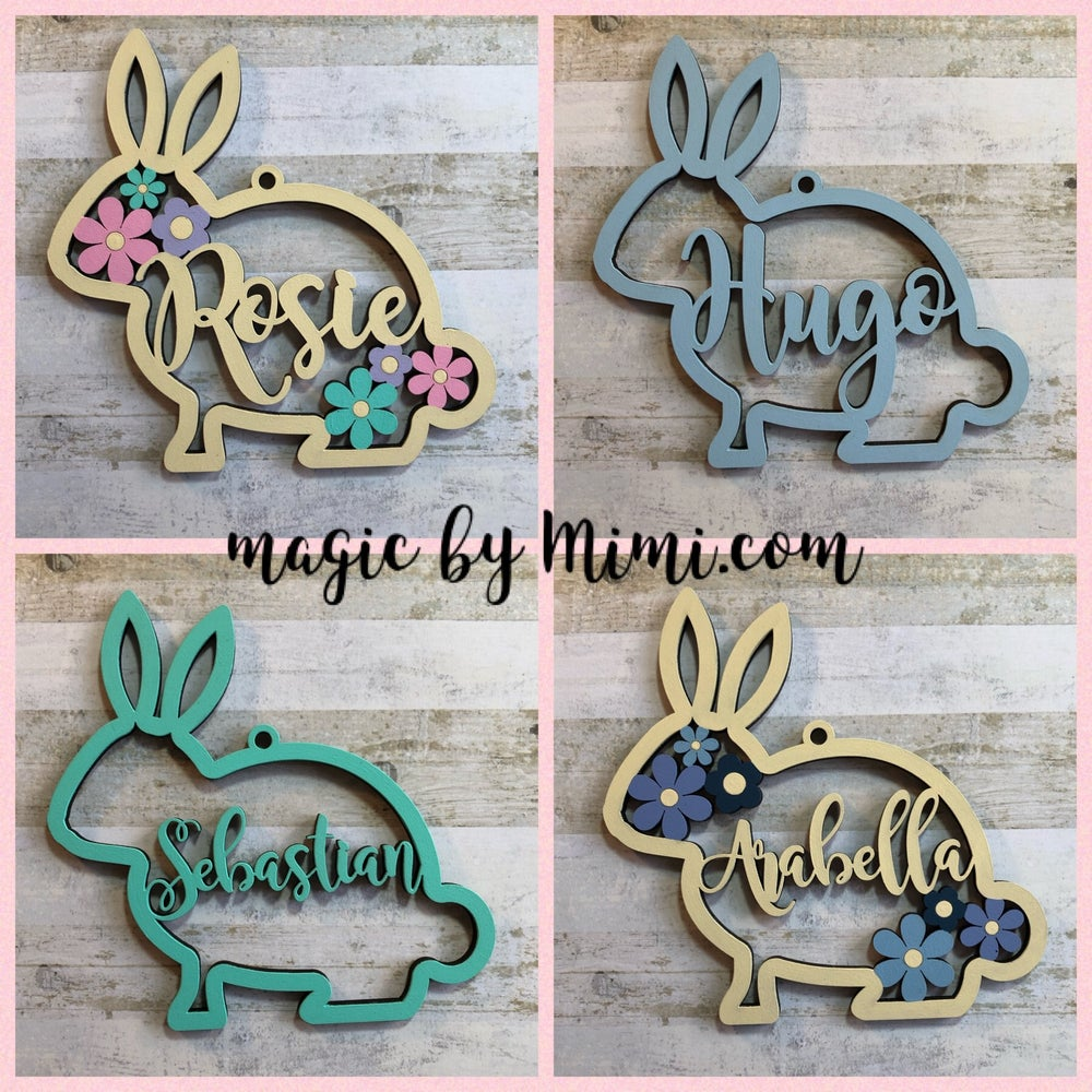 Image of Personalised Bunny (2 for £10)
