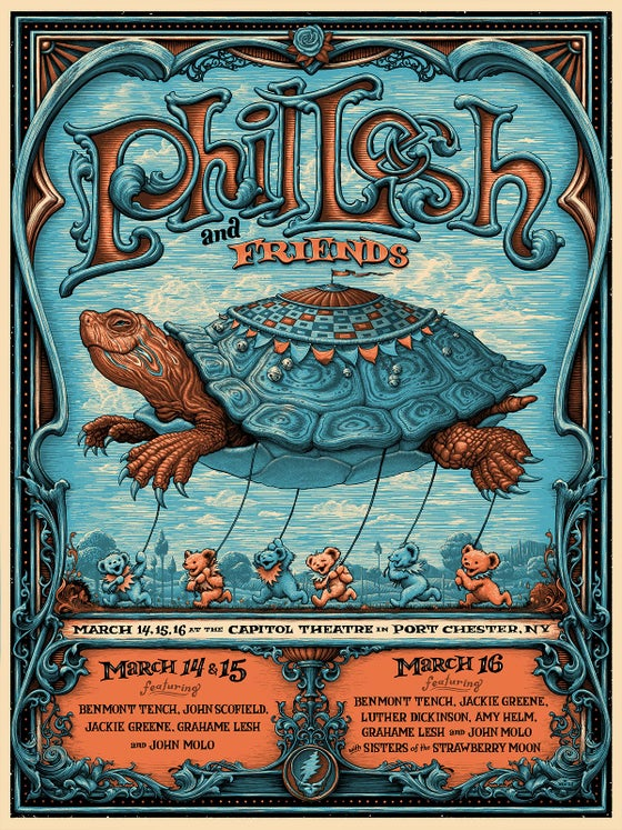 Image of Phil Lesh gig poster