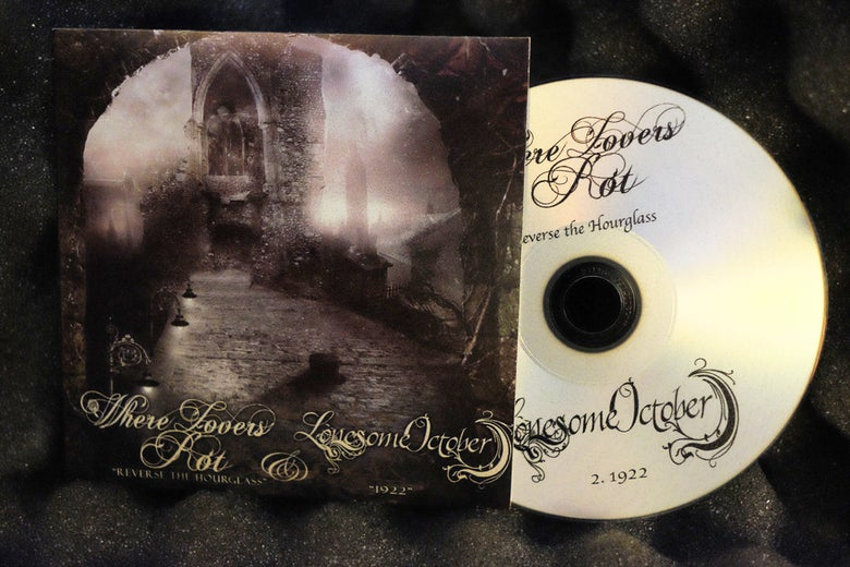 Image of Where Lovers Rot/Lonesome October - Split 16'