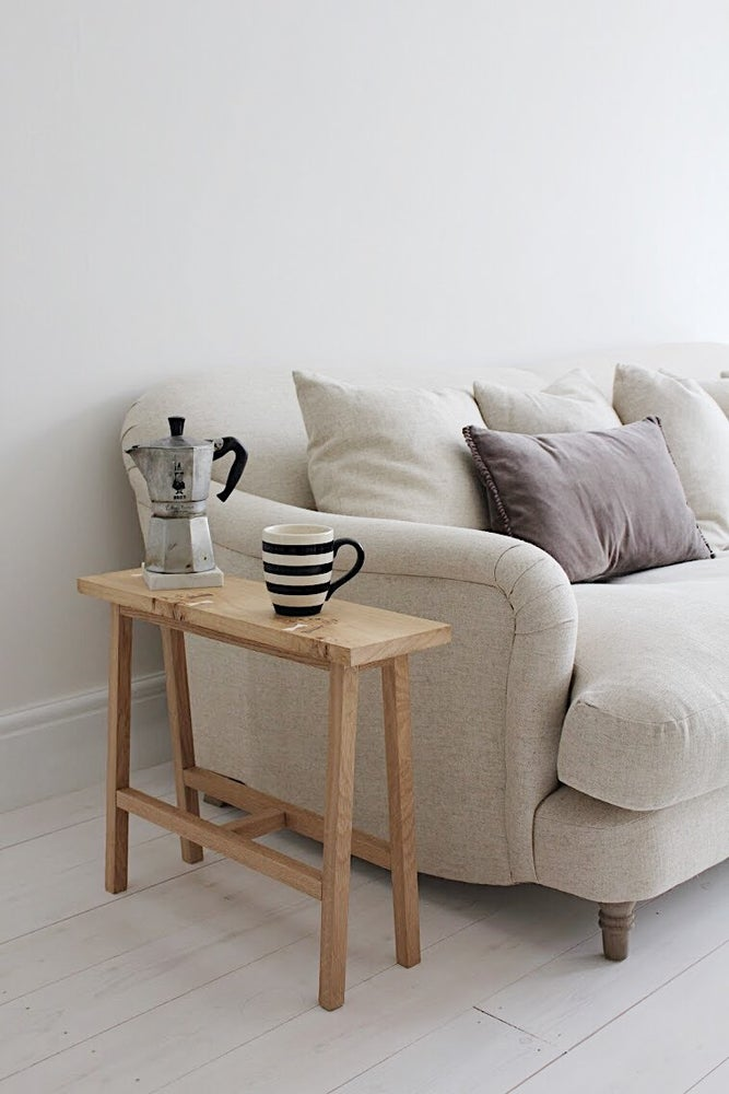 Image of Butterfly Mini Bench, English Pippy Oak