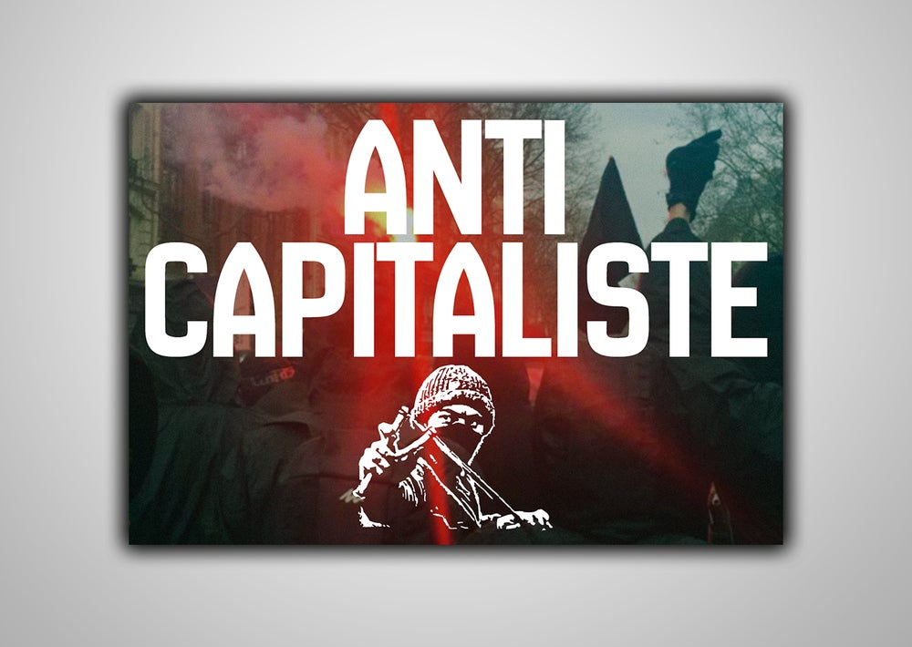 "Image of 100 Autocollants ""ANTI CAPITALISTE"""