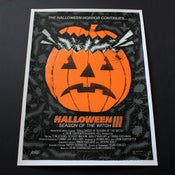Image of Mondo Halloween 3 : Season of the Witch movie poster