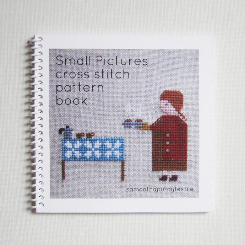 Image of Small Pictures cross stitch pattern book