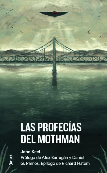 """Image of Libro """"Las profecías del Mothman"""""""