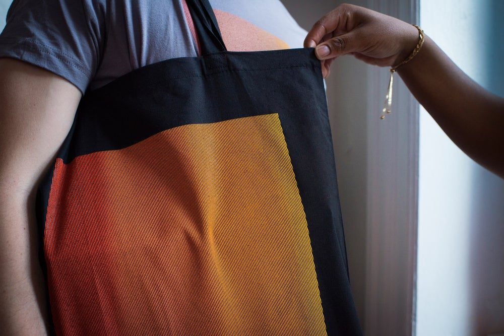Image of SPACE tote bag