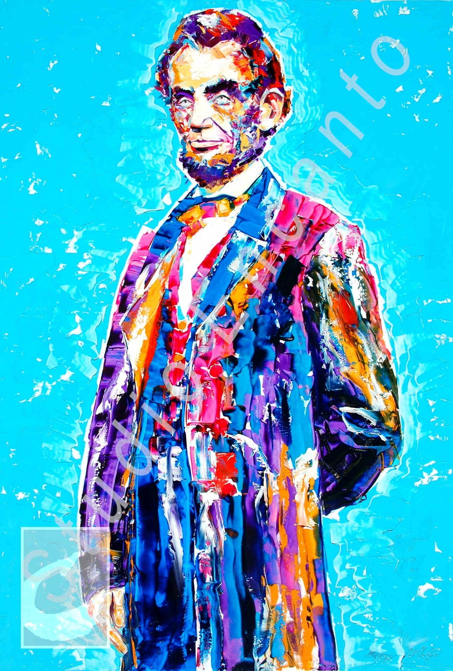 "Image of LINCOLN: Coat of Many Colors by Cathee ""Cat"" Clausen"