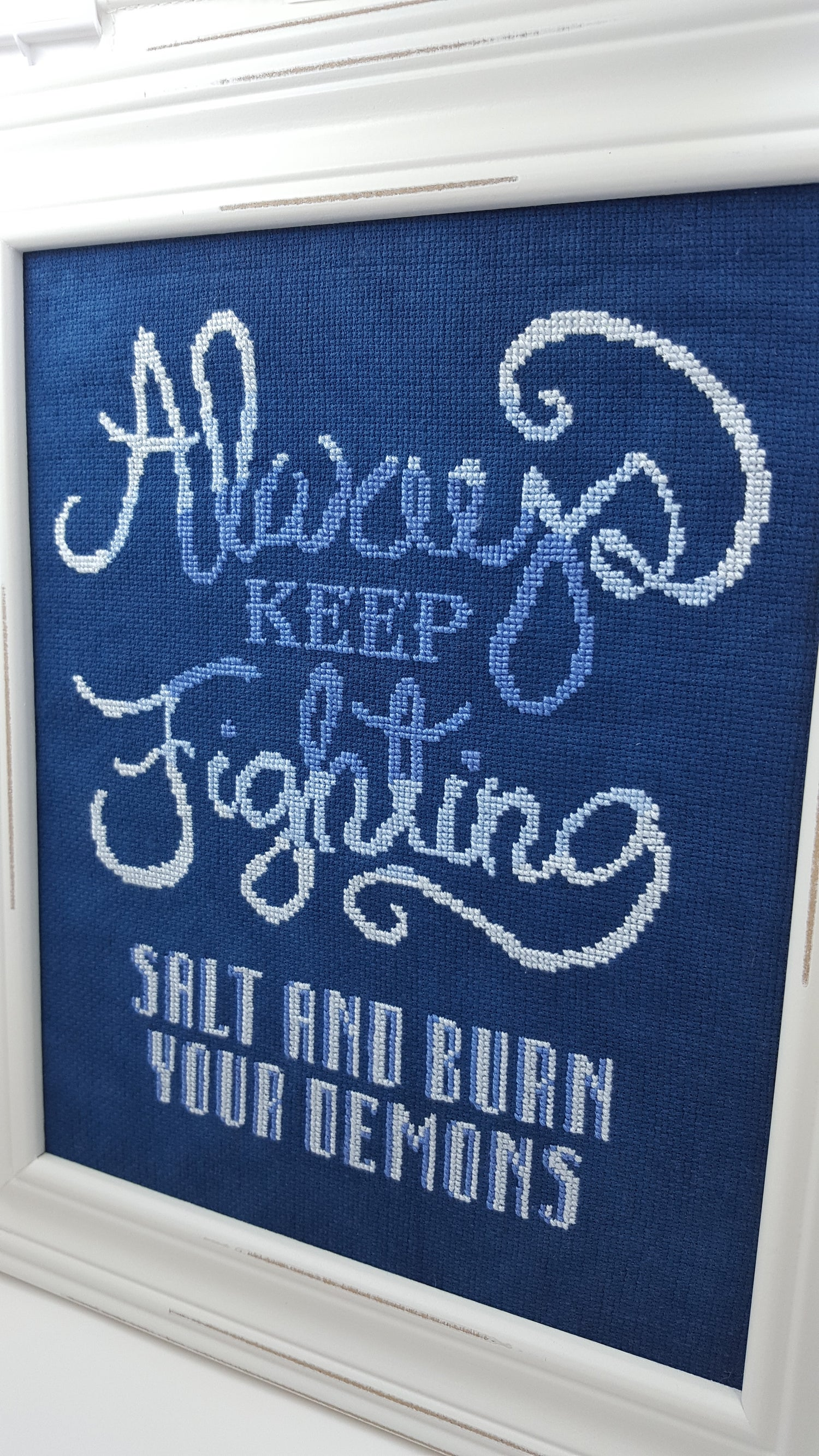 Image of Always Keep Fighting PATTERN PDF