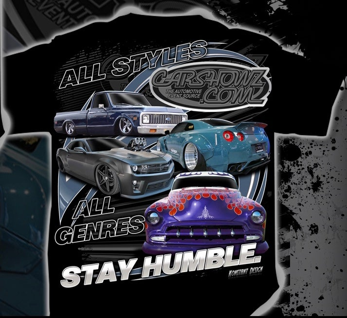 "Image of ""Stay Humble"" CarShowz Tee"