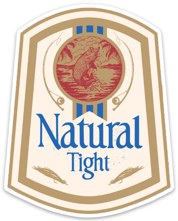 Image of Natural Tight Sticker