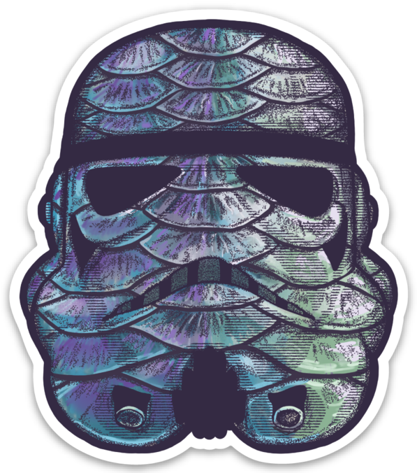 Image of Tarpon Trooper Sticker