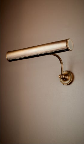 Image of Brass Art Light