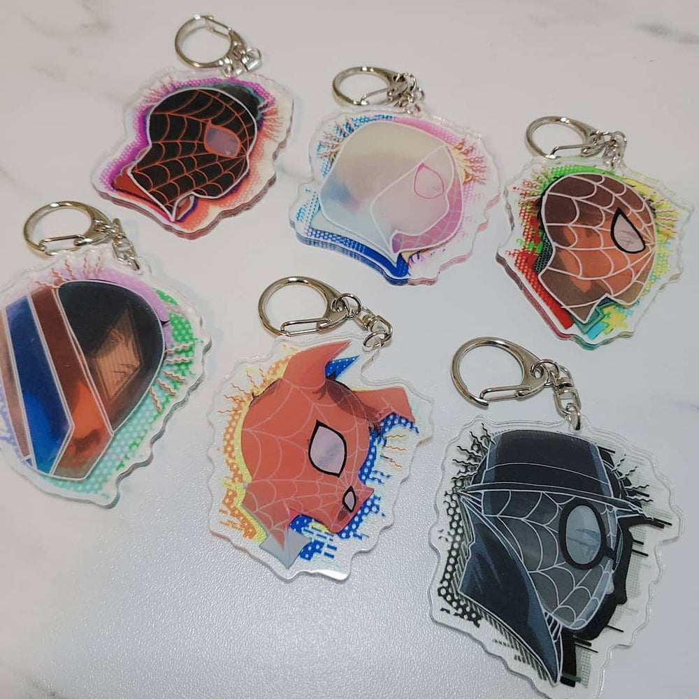Image of Spiderverse 3D charms