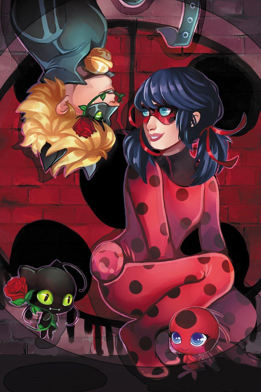 Image of 11x17 Miraculous Ladybug Print