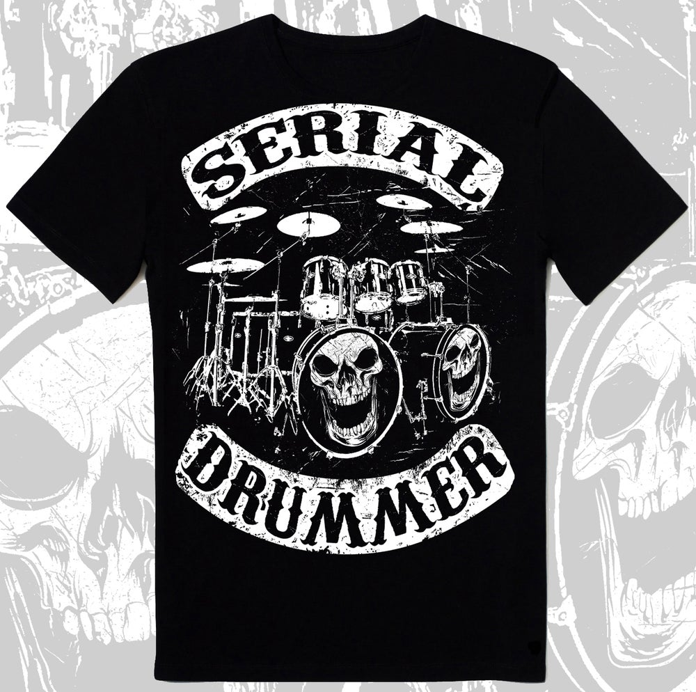 "Image of "" DRUMMERS OF ANARCHY "" T-SHIRT"