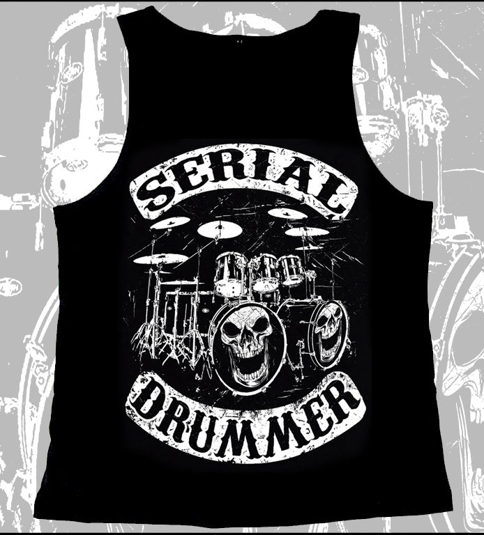 "Image of "" DRUMMERS OF ANARCHY "" LOOSE TANK"