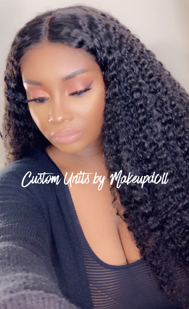 "Image of Brazilian Curly 24"" Full Lace Wig!"