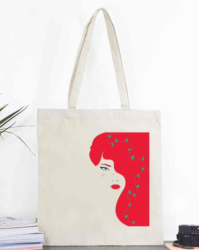 Image of Tote bag Redhead