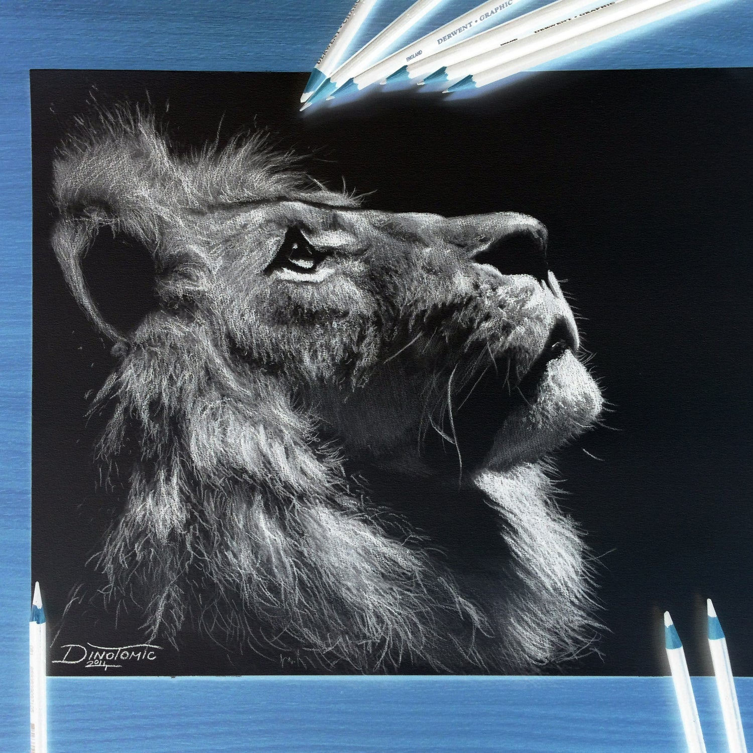 Image of 82# Inverted Lion