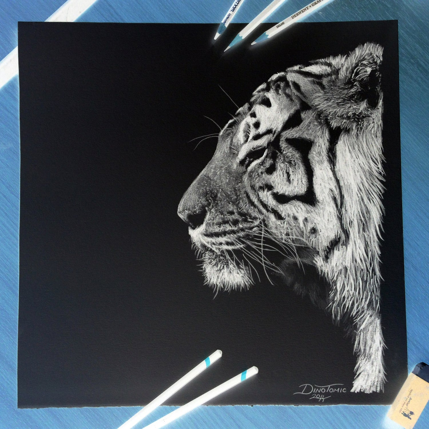 Image of 84# Inverted Tiger SideView
