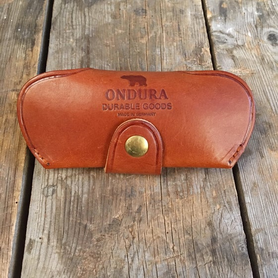 Image of ONDURA DURABLE GOODS SUNGLASS CASE BROWN
