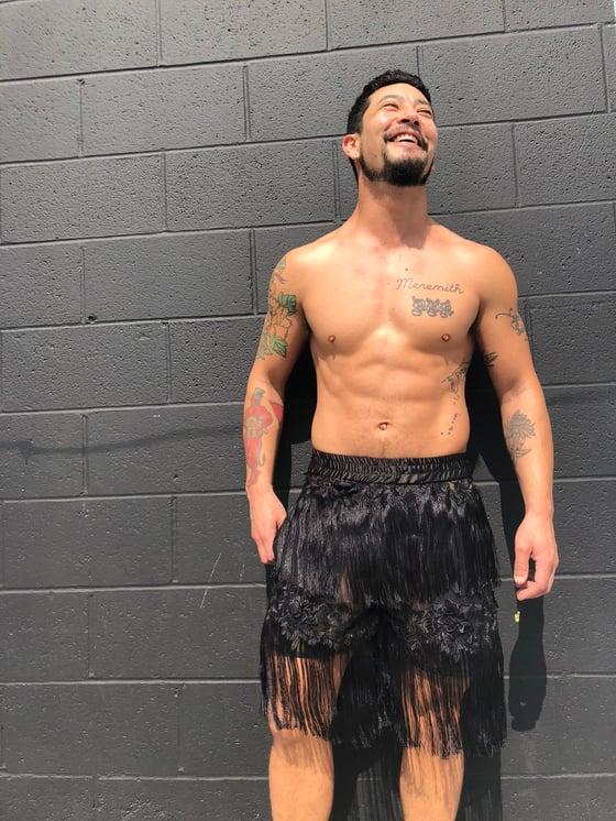 Image of Return of the fringe shorts