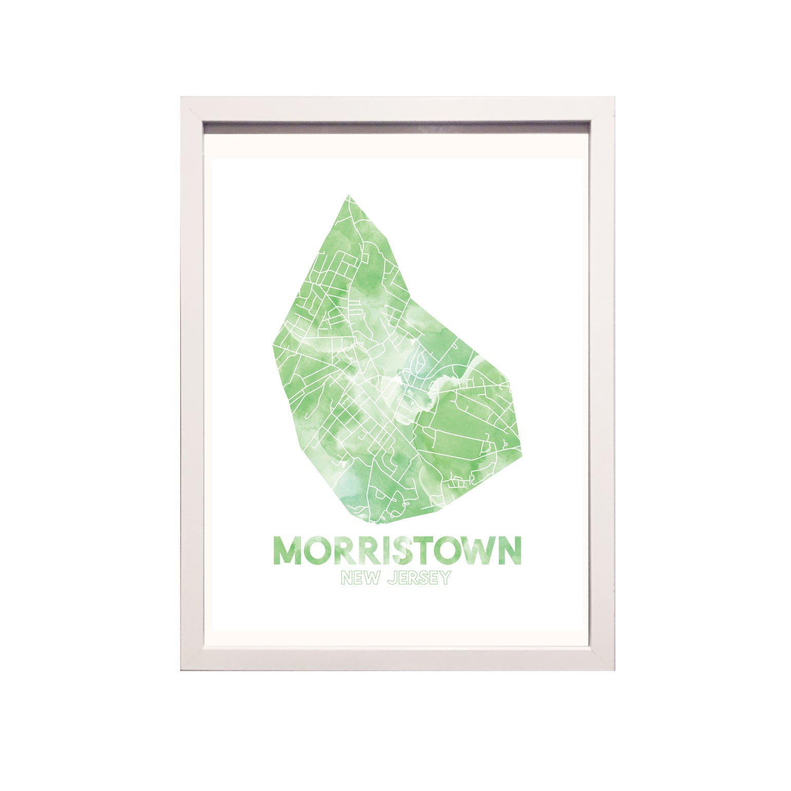 Image of Morristown NJ Art Print
