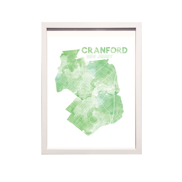 Image of Cranford NJ Art Print
