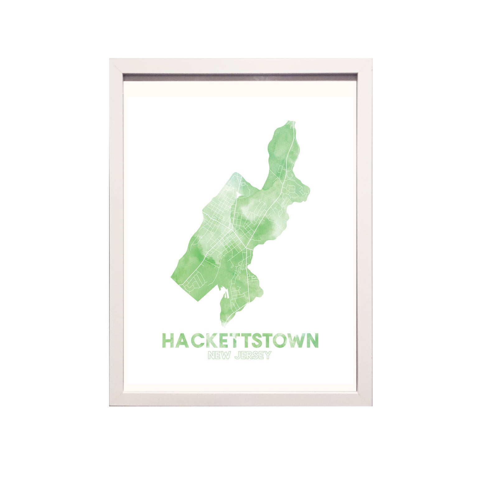 Image of Hackettstown NJ Art print