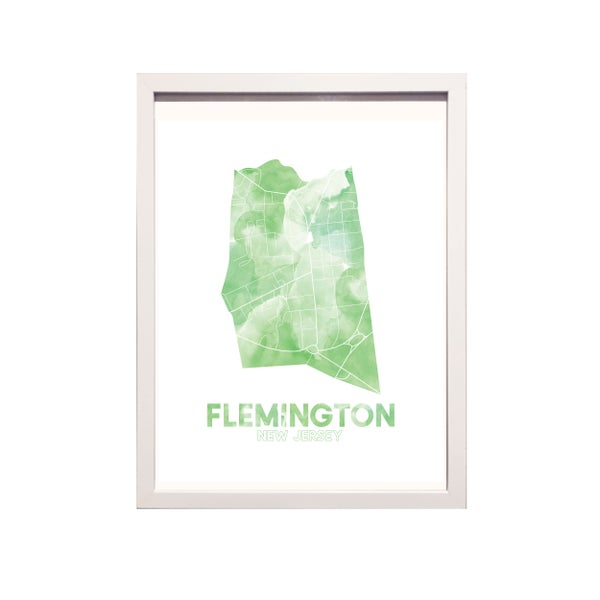 Image of Flemington NJ Art Print