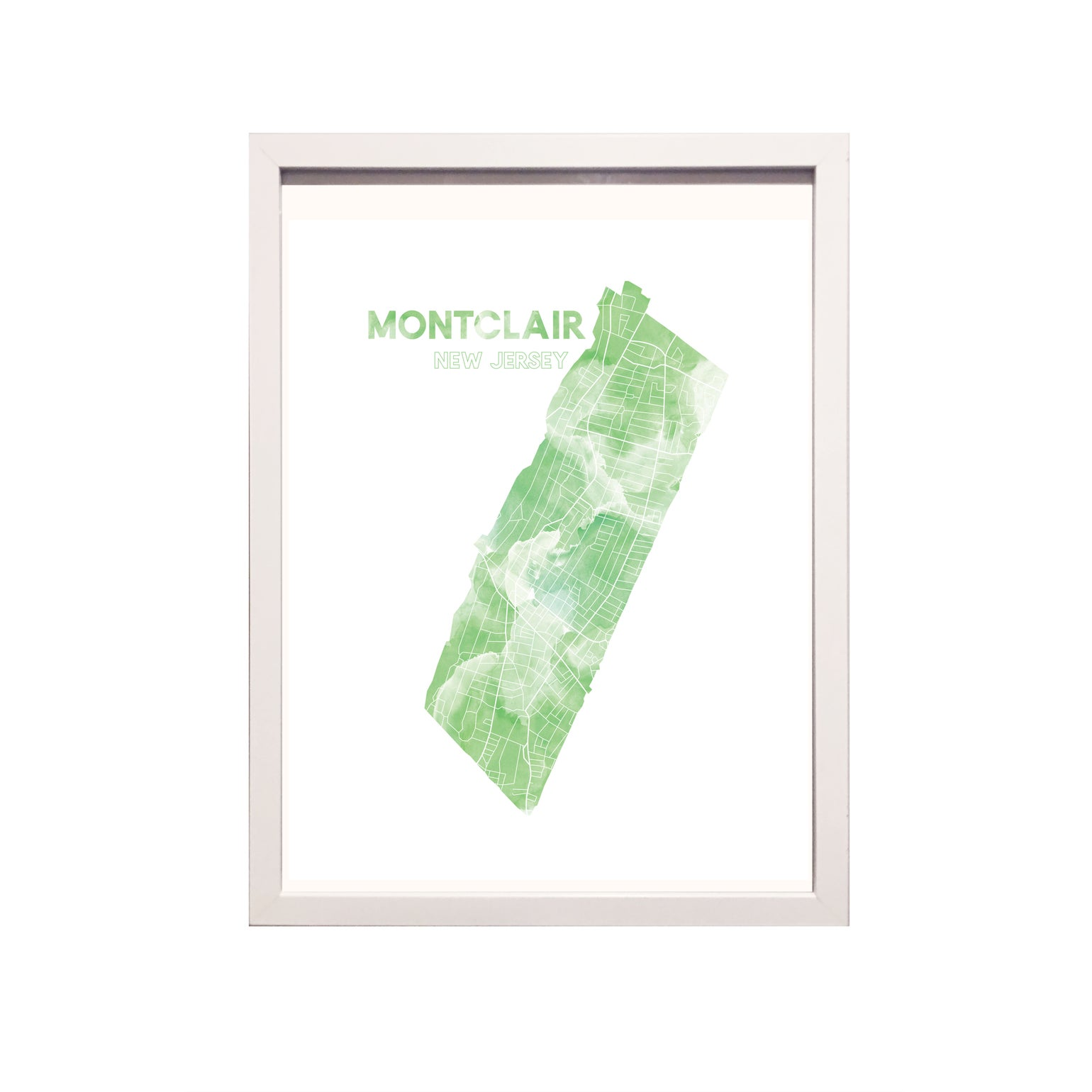 Image of Montclair NJ Art Print
