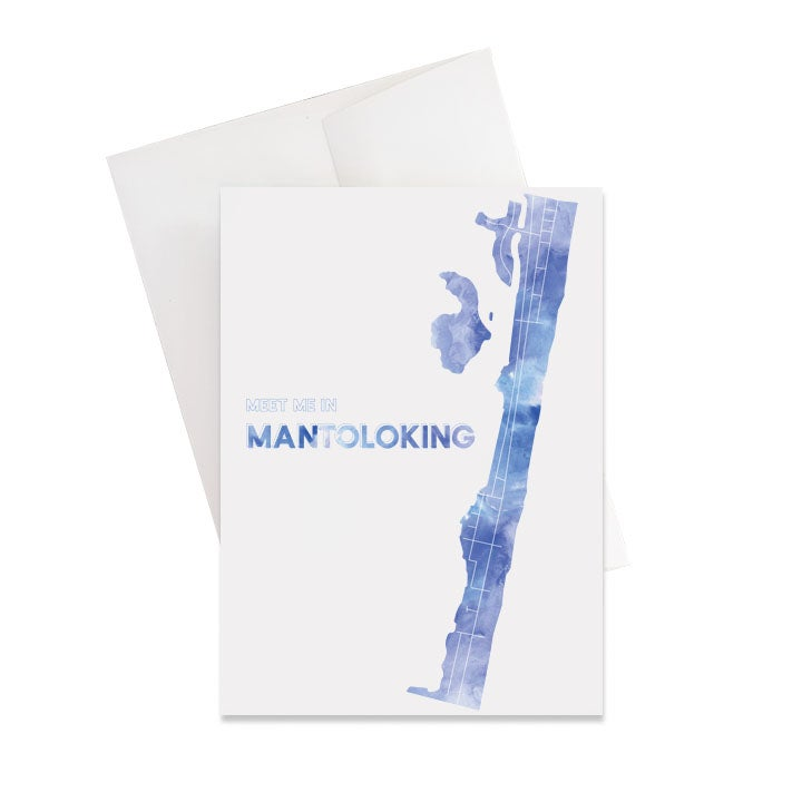 Image of Mantoloking NJ Card