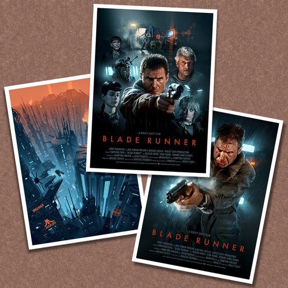 Image of Blade Runner Poster Pack