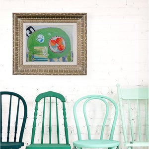 Image of Contemporary Painting, 'Snowdrops,' Poppy Ellis