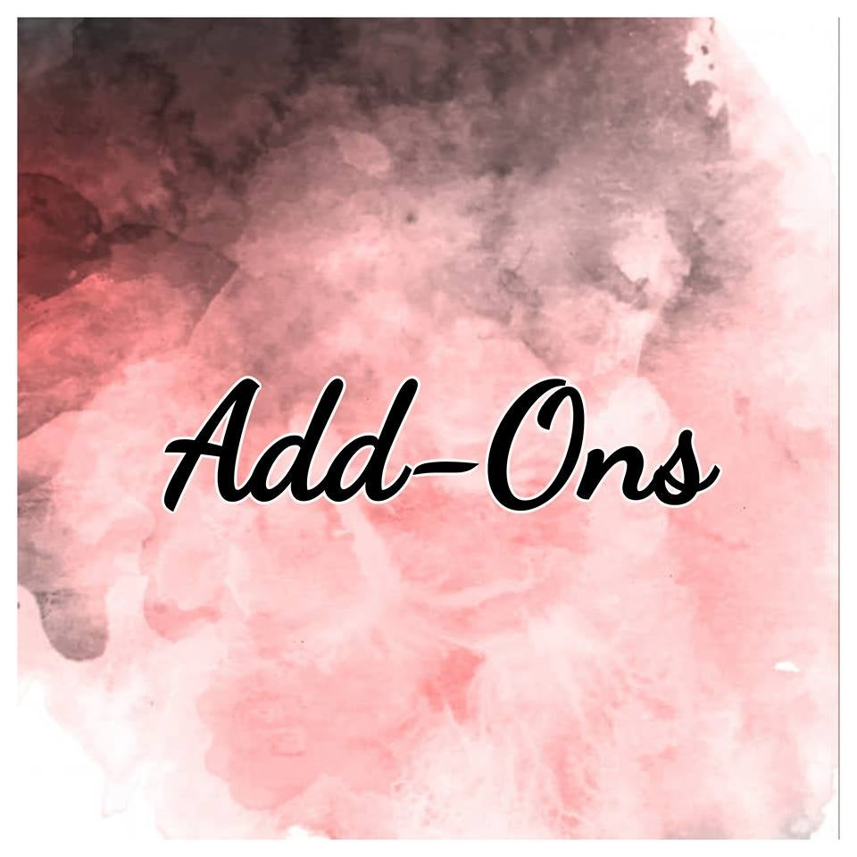 Image of Add Ons